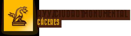 Portal de la asociación de Vecinos de la Ciudad Monumental de Cáceres