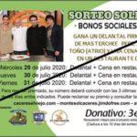 SORTEO SOLIDARIO – bonos sociales