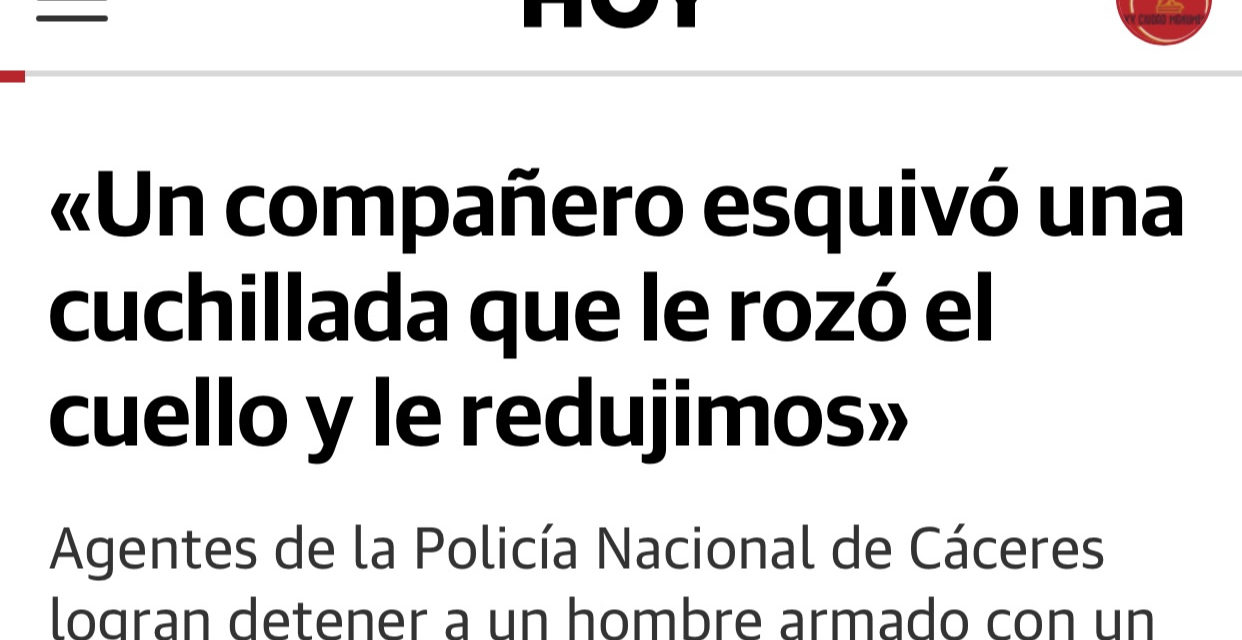 ACTUACIACIÓN POLICIAL EN LA ZONA DE LA PLAZA DE SANTIAGO
