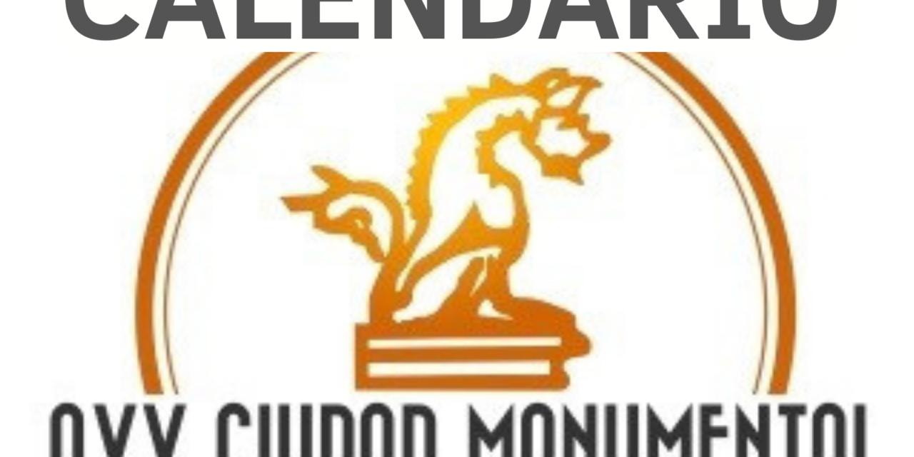 CALENDARIO AVV CIUDAD MONUMENTAL